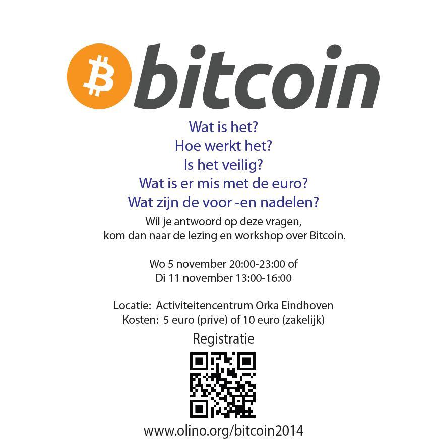141105 Lezing Bitcoin
