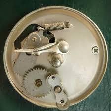 Mechanische bel van binnen